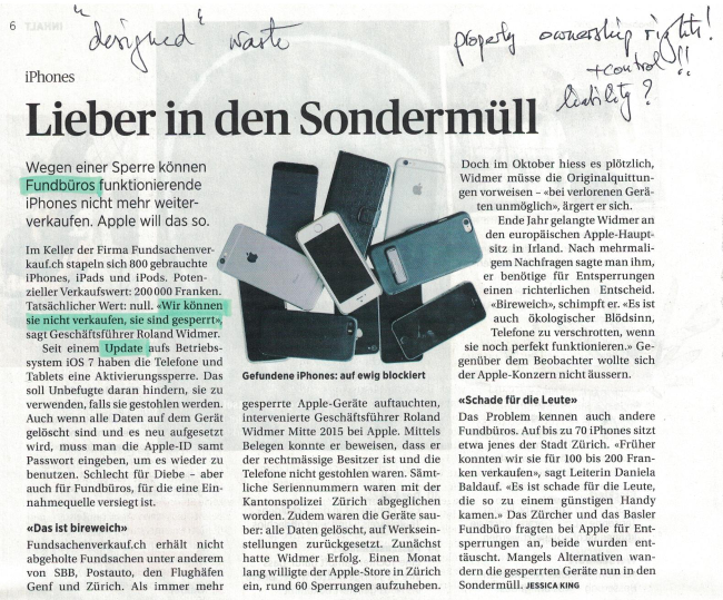Der Beobachter, January 2016,(accessed December 2016)